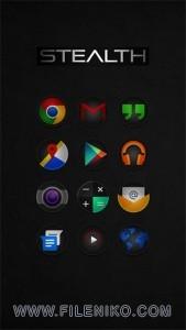 دانلود لانچر تم Pulse - Icon Pack v3.2.2 تم و گرافیک موبایل نرم افزار اندروید