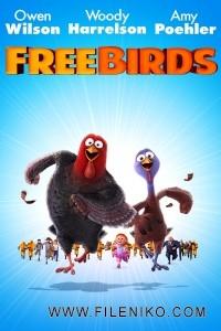 دانلود انیمیشن Free Birds پرندگان آزاد دوبله فارسی دو زبانه انیمیشن مالتی مدیا