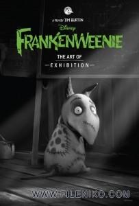 دانلود انیمیشن Frankenweenie فرنکنوینی دوبله فارسی دو زبانه انیمیشن مالتی مدیا