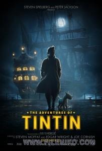 دانلود انیمیشن The Adventures of Tintin:The Secret of the Unicorn تنتن:راز اسب شاخدار دوبله فارسی انیمیشن مالتی مدیا