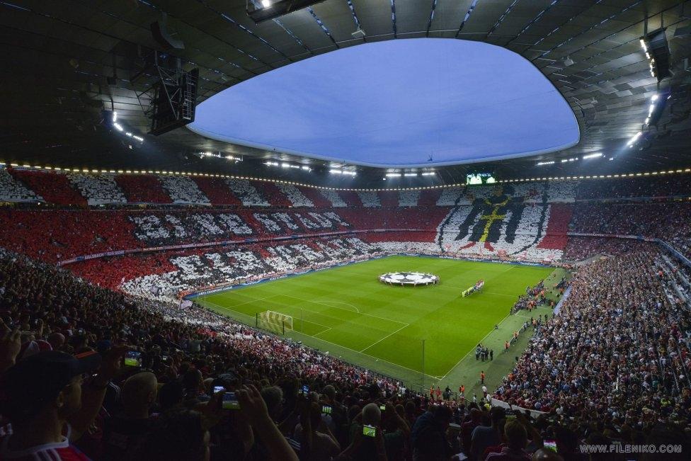 جام قهرمانان اروپا Bayern Munich vs Barcelona بازی برگشت