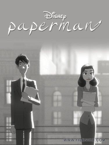 دانلود انیمیشن کوتاه Paperman مرد کاغذی برنده اسکار 2013 - فایل نیکو