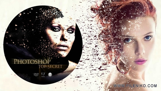 دانلود Photoshop Top Secret Training Course دوره کامل آموزشی اسرار فتوشاپ آموزش گرافیکی مالتی مدیا مطالب ویژه