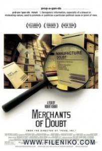 دانلود فیلممستند Merchants of Doubt 2014 سوداگری تردید مالتی مدیا مستند
