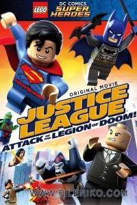 دانلود انیمیشن LEGO Justice League Attack of a Legion of Doom با زیرنویس فارسی انیمیشن مالتی مدیا