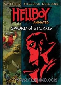 دانلود انیمیشن پسر جهنمی: شمشیر طوفان – Hellboy Animated: Sword of Storms با زیرنویس فارسی انیمیشن مالتی مدیا