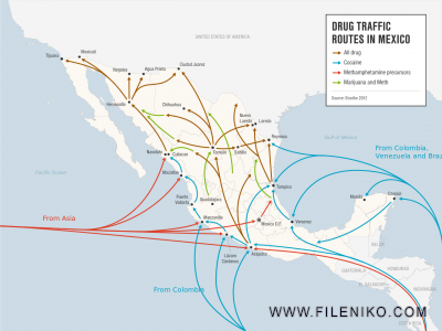 Drug.traffic.routes.in.Mexico