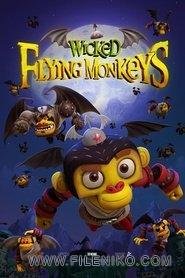 دانلود انیمیشن میمون های پرنده  Wicked Flying Monkeys دوبله فارسی دو زبانه انیمیشن مالتی مدیا