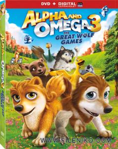دانلود انیمیشن Alpha and Omega 3: The Great Wolf Games الفا و امگا 3 با زیرنویس فارسی انیمیشن مالتی مدیا