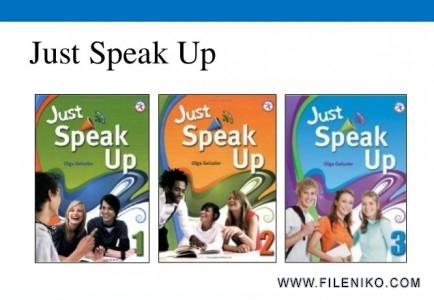 دانلود مجموعه تقویت مکالمه زبان انگلیسی Just Speak up آموزش زبان مالتی مدیا