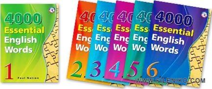 دانلود کتاب صوتی رایج ترین لغات زبان انگلیسی (4000 Essential English Words) آموزش زبان مالتی مدیا