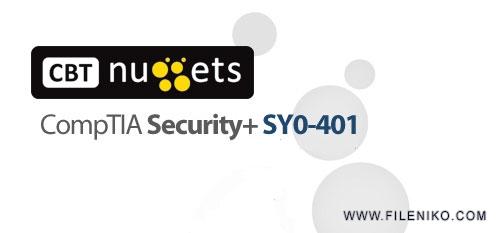 دانلود CBT Nuggets CompTIA Security+ SY0-401 آموزش مهارت های شبکه، کامپتیا سکیوریتی پلاس آزمون SY0-401