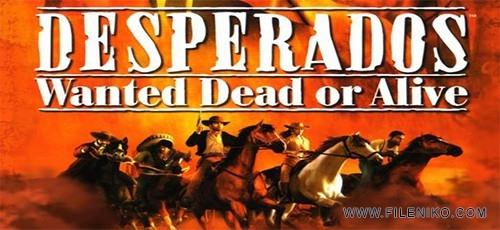 دانلود بازی Desperados 1 برای PC دوبله فارسی