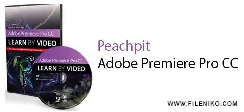 دانلود Peachpit Adobe Premiere Pro CC  آموزش نرم افزار ادبی پریمیر پرو سی سی