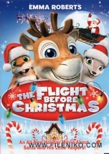 دانلود انیمیشن  The Flight Before Christmas 2008 پرواز پیش از کریسمس زبان اصلی با زیرنویس فارسی انیمیشن مالتی مدیا