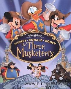 دانلود انیمیشن Mickey,Donald,Goofy:The Three Musketeers 2004 زبان اصلی با زیرنویس فارسی انیمیشن مالتی مدیا