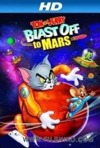 دانلود انیمیشن زیبای تام و جری به مریخ می روند Tom and Jerry Blast Off to Mars انیمیشن مالتی مدیا