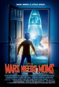 دانلود انیمیشن 2011 Mars Needs Moms مریخ به مادر نیاز دارد دوبله فارسی انیمیشن مالتی مدیا