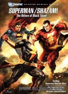 دانلود انیمیشن سوپرمن و شازام: بازگشت مرد سیاه – Superman/Shazam: The Return of Black Adam زبان اصلی انیمیشن مالتی مدیا