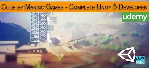 دانلود Udemy Learn To Code by Making Games Complete Unity 5 Developer فیلم آموزش کامل برنامه نویسی بازی با Unity 5